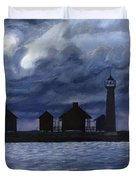 Lydia Ann Lighthouse Duvet Cover