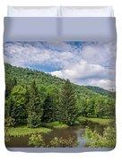Lyman Run State Park Duvet Cover
