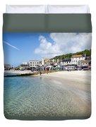 Lyme Regis Beaches - June 2015 Duvet Cover