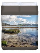 Lyme Regis Seascape 3 - October Duvet Cover