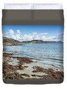 Lyme Regis Seascape 5 - October Duvet Cover