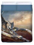 Lynx Spirit Duvet Cover
