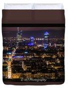 Lyon's Skyscrapers Duvet Cover
