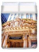 Lyric Opera Of Chicago Duvet Cover