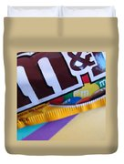M And M Candy Duvet Cover