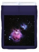 M42--the Great Nebula In Orion Duvet Cover