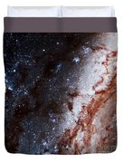M51 Hubble Legacy Archive Duvet Cover