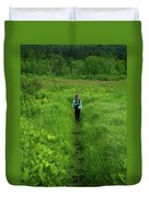 Ma At Section Hiker Duvet Cover