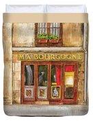 Ma Bourgogne Duvet Cover by Debbie DeWitt