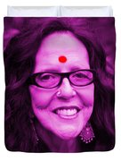 Ma Jaya Sati Bhagavati 12 Duvet Cover by Eikoni Images
