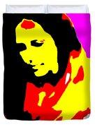 Ma Jaya Sati Bhagavati 5 Duvet Cover by Eikoni Images