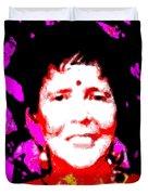 Ma Jaya Sati Bhagavati 6 Duvet Cover