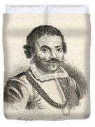 Maarten Harpertszoon Tromp 1598 - 1653 Duvet Cover