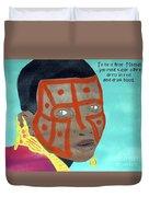 Maasai Duvet Cover