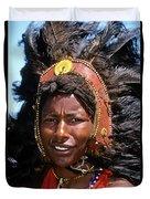 Maasai Warrior Duvet Cover