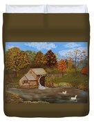 Mabry Mill Duvet Cover