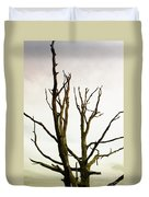 Macabre Leafless Tree Duvet Cover
