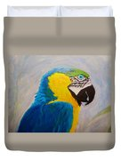 Macaw Head Duvet Cover