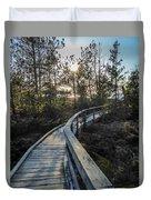 Macgregor Point Boardwalk Duvet Cover