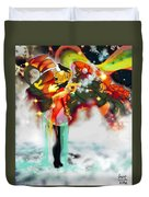 Machine And Me Duvet Cover