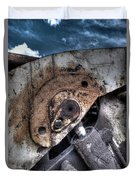 Machine Rust Hydraulic Ram Duvet Cover