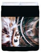 Machine Speed Warp In Blur Duvet Cover
