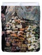 Machu Picchu Ruins- Peru Duvet Cover