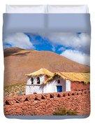 Machuca Church Duvet Cover