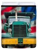Mack Dump Truck Duvet Cover