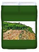 Mackenzie Mountain  Duvet Cover
