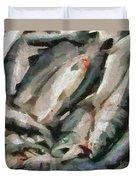 Mackerel Duvet Cover
