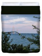 Mackinac Bridge 1 Duvet Cover