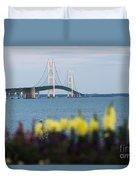 Mackinac Bridge 2 Duvet Cover