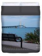 Mackinac Bridge 4 Duvet Cover
