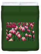 Mackinac Island Tulips 10681 Duvet Cover