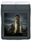 Mackinaw Point Lighthouse Duvet Cover