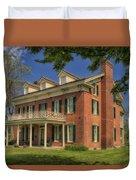 Maclay House Tipton Mo Built In 1858 Dsc01873 Duvet Cover