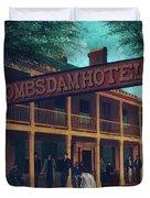 Macomb's Dam Hotel Duvet Cover