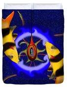 Macrachantis V1 - Colourful Fish Duvet Cover