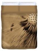 Macro - Dandelion Duvet Cover