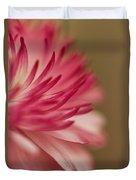 Macro - Pink Flower Duvet Cover