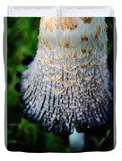 Macro Mushroom Duvet Cover
