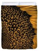Macro Sunflower Duvet Cover