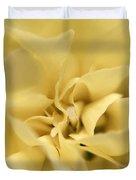 Macro Yellow Rose Duvet Cover