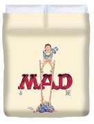 Mad Magazine Cover Duvet Cover
