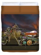 Mad Max Creater Motorcycle Duvet Cover