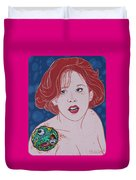 Mad Molly  Original Available Duvet Cover