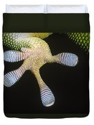 Madagascar Day Gecko Phelsuma Duvet Cover