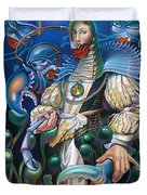 Madame Clawdia D'bouclier From Mask Of The Ancient Mariner Duvet Cover