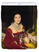 Madame De Senonnes Duvet Cover by Ingres